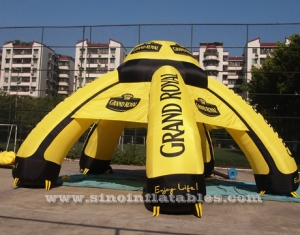 grand royal ceremony inflatable advertising tent