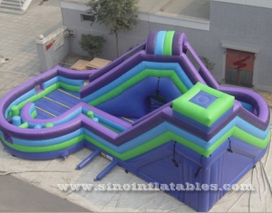 giant kids inflatable obstacle course