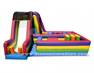 kids bouncy inflatable obstacle courses