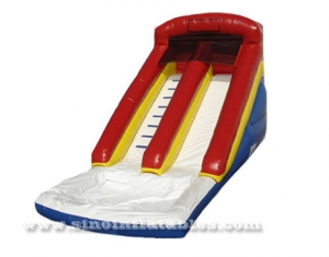 17ft High Kids Commercial Inflatable Water Slides