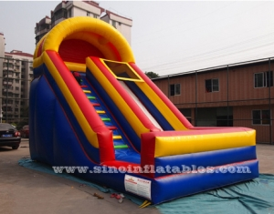 18' high single lane kids inflatable slide