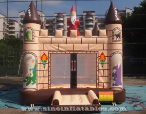 outdoor kids party Edinburgh inflatable bouncy castle