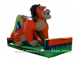 giant lion king inflatable slide sales