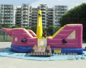 children pirate ship inflatable bouncer