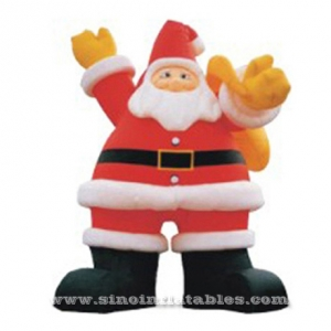 giant advertising inflatable christmas man