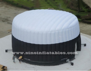 giant palace LED inflatable tent