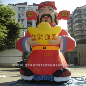 8m high joyous giant inflatable mascot
