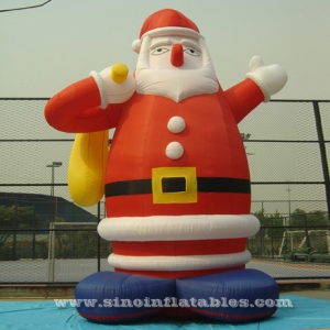 giant father inflatable Santa Claus