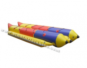 10 persons double row inflatable banana boat