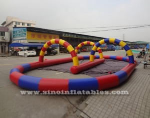 karts N zorb balls inflatable race track