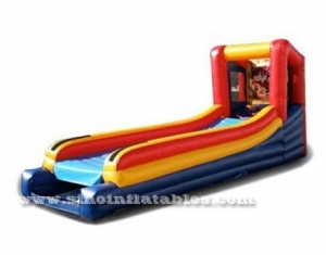 kids inflatable skee ball game