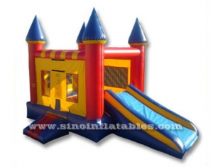 combo caslte bounce house with slide