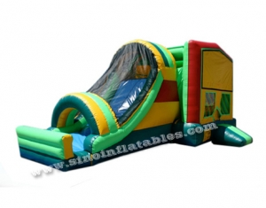 Commercial kids inflatable combo