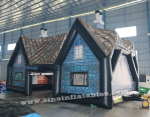 outdoor giant house inflatable pub tent