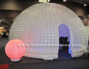 hemisphere advertising inflatable bubble tent