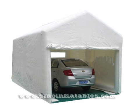 movable car parking garage airtight inflatable tent  sc 1 st  Sino Inflatables Co. Ltd. (Guangzhou) & 18x11 ft movable car parking garage airtight inflatable tent with ...