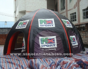 sports travel advertising inflatable camping tent