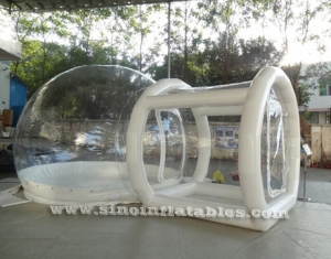 outdoor transparent inflatable camping bubble tent