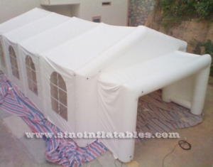 big movable house white wedding party inflatable tent