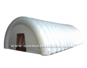 sports playground white air sealed inflatable tent