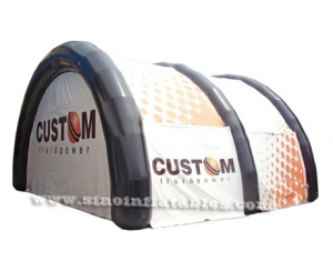 movable promotion advertising air sealed inflatable tent