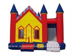 Kids inflatable combo bouncy castle