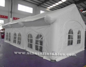 movable white wedding party airtight inflatable tent