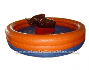 inflatable rodeo bull rides