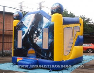 backyard kids Batman inflatable jumping castle with slide