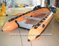 4 persons inflatable zodiac boat