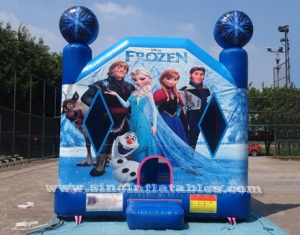 commercial grade kids inflatable frozen bounce house