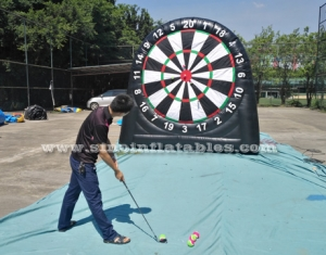 3in1 giant inflatable golf dart board