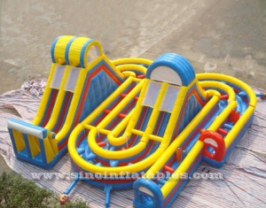 kids giant obstacle course inflatable playground