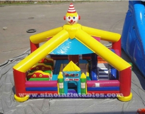 clown inflatable playaground