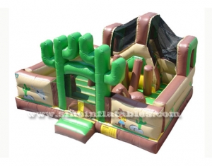 jungle inflatable amusement park