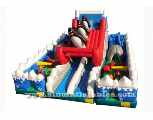 kid indoor inflatable playground