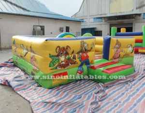 Tom N Jerry inflatable playground