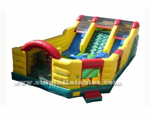 outdoor commercial inflatable amusement park