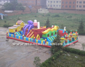 octopus city kids giant inflatable amusement park