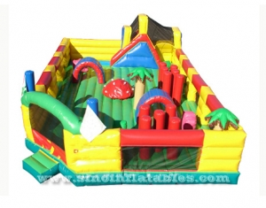 toddler inflatable amusement park
