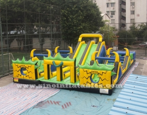 Adult N kid inflatable playground