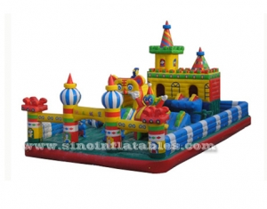 commercial large inflatable amusement park