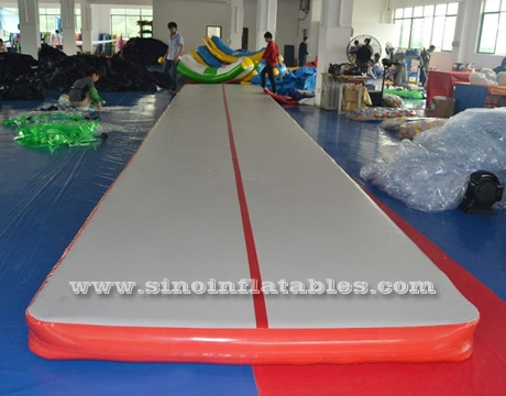 indoor blow up gymnastics inflatable air tumble track