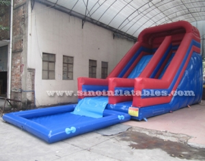 Kids Parties commercial Inflatable Pool Slides
