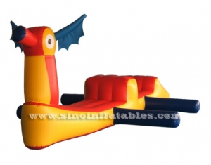 Kids and adults floating inflatable water obstacle toys