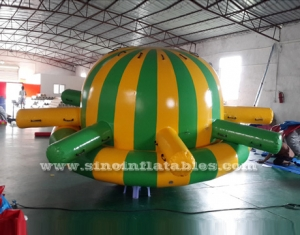 giant airtight inflatable spinner sport game