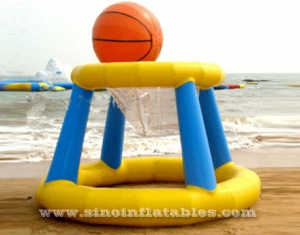 giant monster inflatable basketball hoop