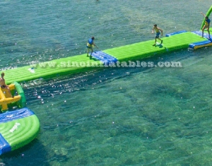 airtight inflatable walkway bridge for kids and adults