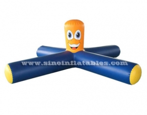 floating Inflatable water seesaw