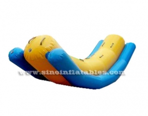 kids and adults pool toys inflatable seesaw sport games